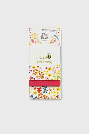 Sada kuchyňských utěrek Bee happy