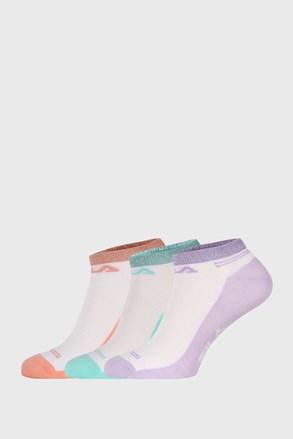 3 PACK ponožek FILA Invisible Lady Color
