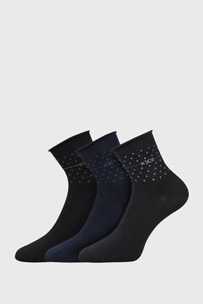 3 PACK ženskih nogavic Flowi