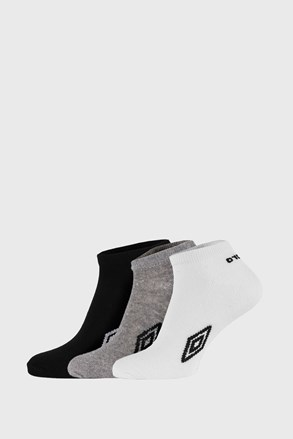 3 PACK kotníkových ponožek Umbro