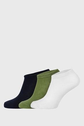 3 PACK dětských nízkých ponožek Jungle