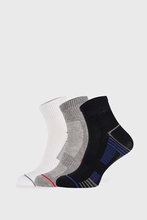 3 PACK kotníkových sportovních ponožek Fantasy