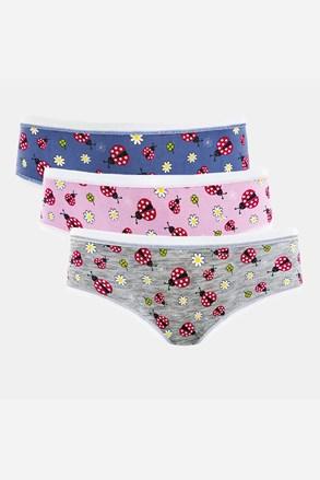 3 PACK dívčích kalhotek Coccinelle