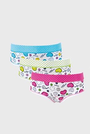 3 PACK dívčích kalhotek Loving