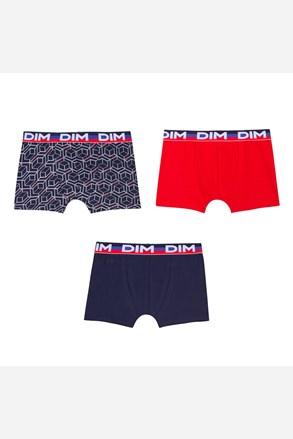 3 pack chlapeckých  boxerek DIM 7020