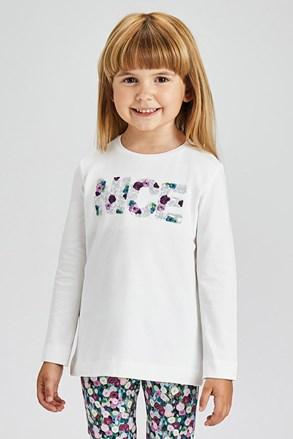 Dívčí tričko s dlouhým rukávem Mayoral Nice