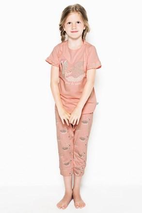Dívčí pyžamo Swans