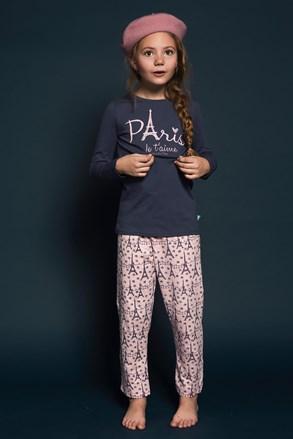 Dívčí pyžamo Paris 01