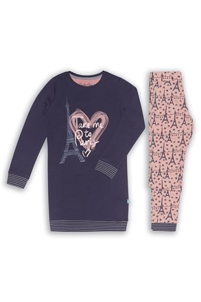 Dívčí pyžamo Paris 02