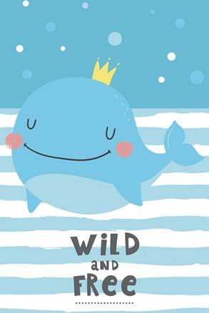 Dětský ručník Velryba