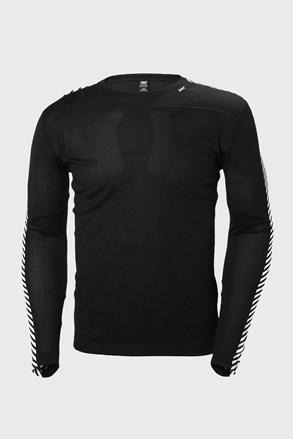 Černé tričko s dlouhým rukávem Helly Hansen
