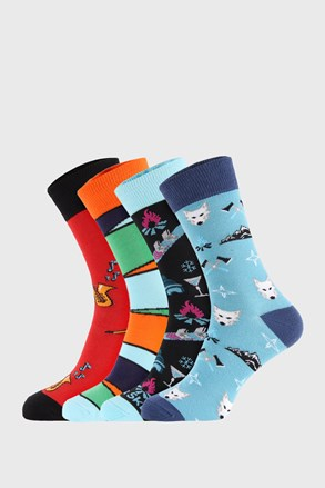 4 PACK чорапи Bellinda Crazy Socks Winter
