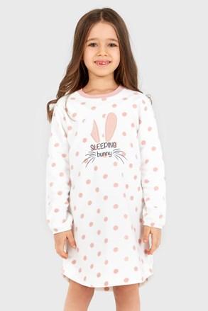 Dívčí noční košile Soft  Bunny