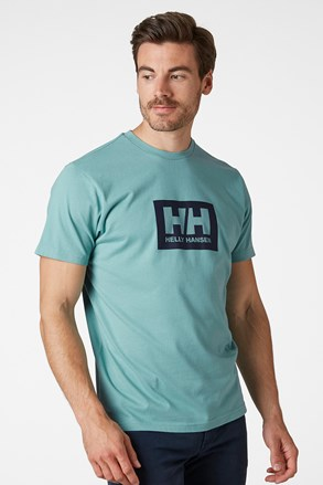 Чоловіча зелена футболка Helly Hansen