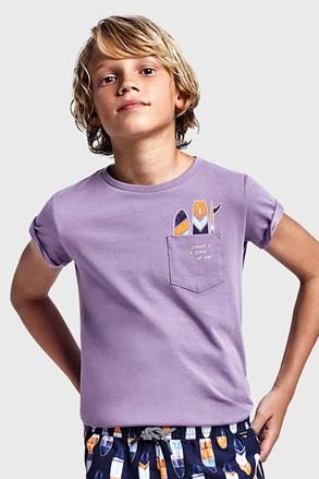 Chlapecké tričko Mayoral Grape fialové