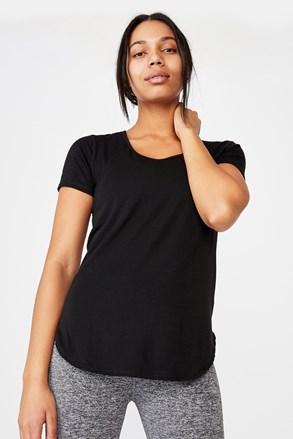 Sportovní tričko Gym černé