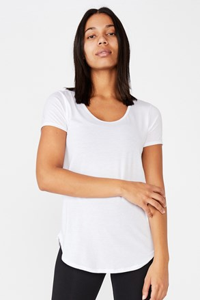 Sportovní triko Gym bílé