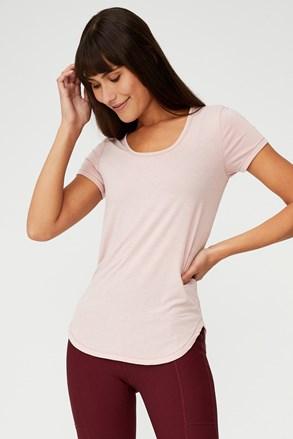 Sportovní tričko Gym růžové