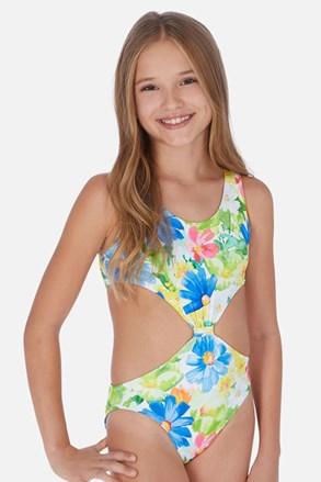 Dívčí jednodílné plavky Tropical