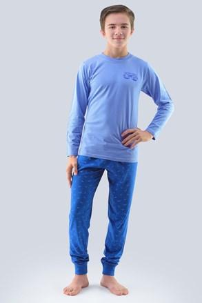 Chlapecké pyžamo Atlantic světle modré