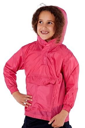 Dětská bunda v kapse ProClimalite růžová