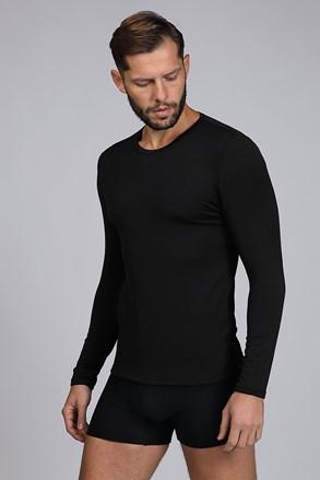 Черна термо блуза Basic