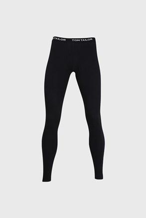 Černé pyžamové kalhoty Tom Tailor