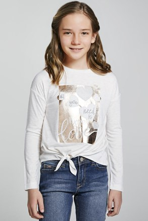 Dívčí tričko Mayoral More love