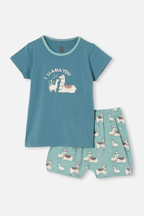 Dívčí pyžamo Lama