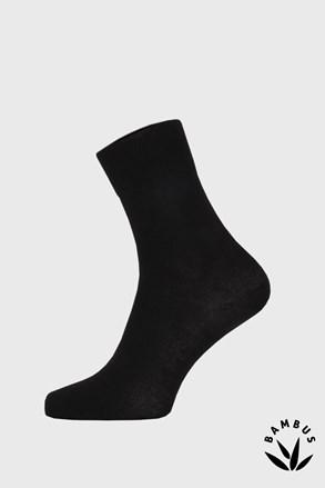 Černé bambusové ponožky vysoké