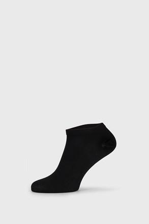 Černé bambusové ponožky nízké