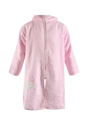 Dětský župan Blue Kids růžový slon