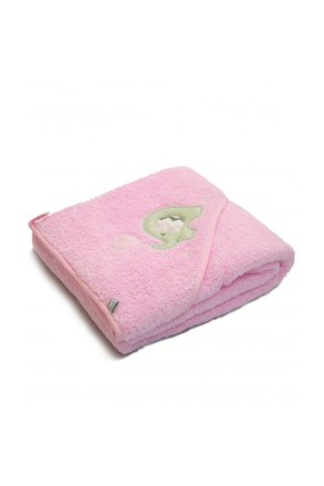 Prosop pentru bebelusi Blue Kids, elefant roz