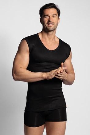 Černé termo tričko bez rukávů