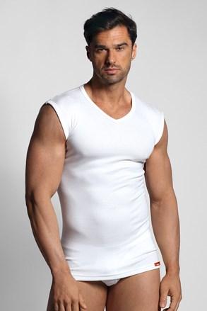 Bílé termo tričko bez rukávů