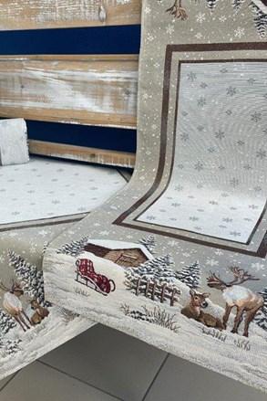 Gobelínový ubrus Winter time