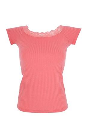 Dámske tričko s čipkou Sabrina