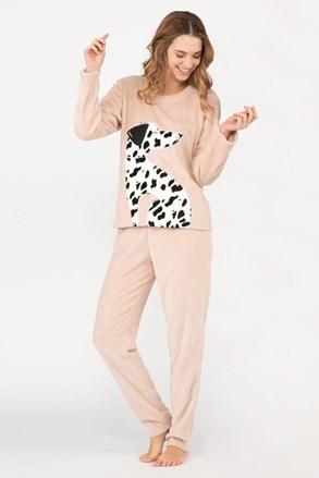 Ženska topla pižama Dalmatine
