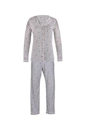 Dámské pyžamo Pygt šedé