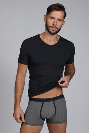 Pánský SET tričko a boxerky Dandy černá