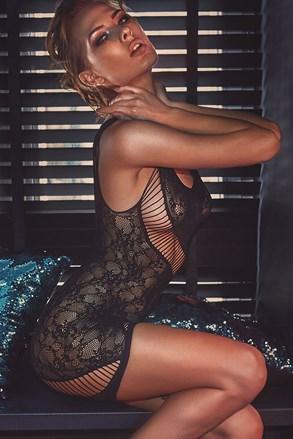 Bodystocking šaty Adios
