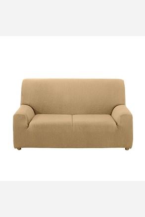 Kétszemélyes kanapéhuzat, krémszínű