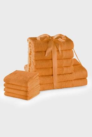 Sada ručníků Amari Family oranžová
