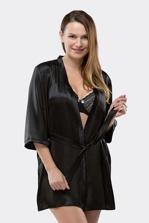 Elegantní župánek Aria Black
