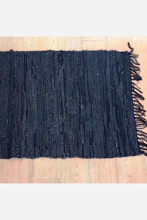 Covoras Home design, din piele, negru