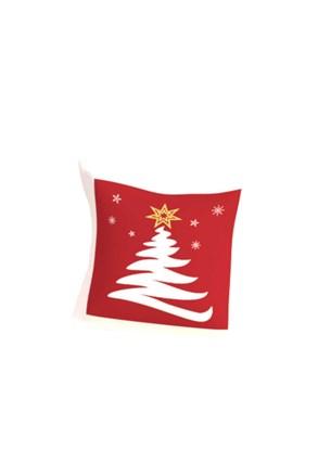 Dekorační polštářek s výplní Vánoční strom