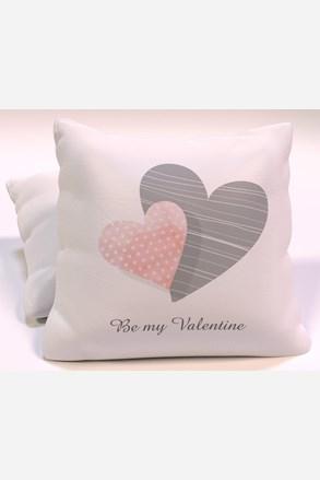 Dekorační polštář Be my Valentine II