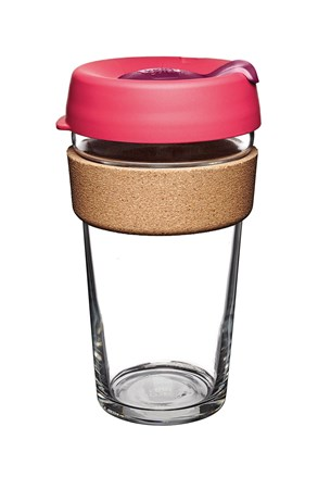 Cestovní hrnek Keepcup růžový s korkem 454 ml
