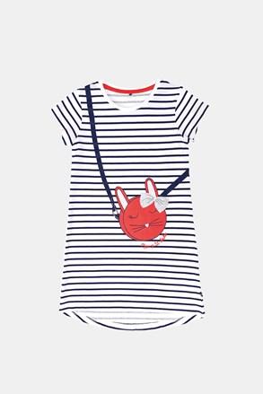 Dívčí noční košile Buny s proužky