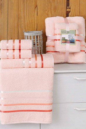 Sada ručníků Bale pudrová